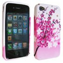 SOFTY01-IP4 - Housse SoftyGel Flower pour iPhone 4