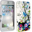 SOFTY02-IP5 - Housse SoftyGel Flower pour iPhone 5