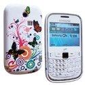 SOFTY05-8520 - Housse SoftyGel Flower pour Blackberry 8520