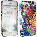 SOFTY13-IPHONE5 - Housse SoftyGel Flower pour iPhone 5