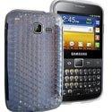 SOFTYDIAMTR-B5510 - Housse Softygel Diamond trabnsparente Galaxy Y Pro B5510