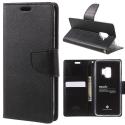 SONATA-S7EDGE - Etui Galaxy S7 EDGE Goospery Sonata logements carte fonction stand coloris noir
