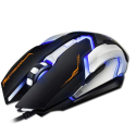 SOURIS-IMICE-V6NOIR - Souris Gaming USB filaire iMice V6 effets lumineux