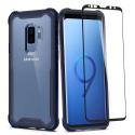 SPG-HYBRID360S9PLBLEU - Coque souple Spigen Hybrid 360 pour Galaxy S9+ coloris bleu