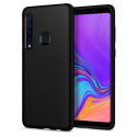 SPG-LIQUIDAIRA9NOIR - Coque souple Spigen Liquid Air Galaxy A9-2018