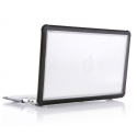 STM-MACBOOKAIR133 - Coque Macbook Air 13 pouces de STM série Dux coloris noir et transparent