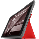 STMDUX-IPAD2017RED - Etui STM série Dux Folio rouge iPad 5 (2017) et iPad 6 (2018)