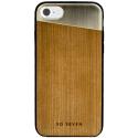 SVNCSMWGIP7 - Coque So-Seven Paris pour iPhone 7/8 bois et or