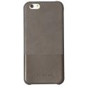 SVNCSTR1GYIP6 - Coque So-Seven Paris pour iPhone 6s effet cuir gris