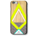 SVNCSWAYLIP6 - Coque So-Seven Paris pour iPhone 6s WoodArt Jaune