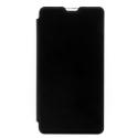 SWFOLIO-LUMIA650 - Etui fin rabat latéral pour Lumia 650 fonction stand