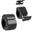 TACT-URBANLOCKNOIR - Support vélo en métal pour smartphone robuste et discret