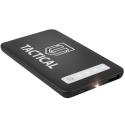 TACTICAL-POWER4000 - Batterie PowerBank Tactical de 4.000 mAh noire extra plate