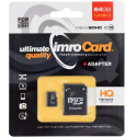 TF64GUSH-IMRO - Carte Micro-SD 64Go Classe-10 UHS-1 de IMRO