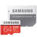 TF64SAMEVOPLUS - Carte mémoire 64 Go microSDXC USH-1 Samsung Evo-PLUS
