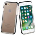 TGBKC0004-IPX78 - Coque antichoc iPhone 7/8/SE (2020) Tiger 2M de Muvit noire et transparente