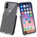TGBKC0013-IPXS - Coque antichoc iPhone X/XS Tiger 2M de Muvit noire et transparente