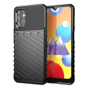 THUNDER-GALAXYA324G - Coque robuste Galaxy A32(4G) antichoc coloris noir