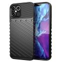 THUNDER-IP12PMAX - Coque robuste iPhone 12 Pro Max antichoc coloris noir