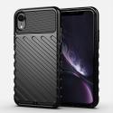 THUNDER-IPXR - Coque robuste iPhone XR antichoc coloris noir