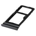 TIROIR-A52NOIR - Tiroir SIM + carte mémoire Galaxy A52/A52s/A72 coloris noir