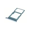 TIROIR-HONOR10LITEBLEU - Tiroir Honor 10 Lite pour carte Nano-SIM et microSD coloris bleu ciel