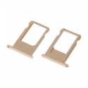 TIROIR-IP6SGOLD - Tiroir de carte SIM iPhone 6s coloris Gold