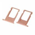 TIROIR-IP6SROSE - Tiroir de carte SIM iPhone 6s coloris Rose Gold