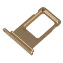 TIROIR-IPXRGOLD - Tiroir de carte SIM iPhone XR coloris gold
