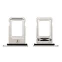 TIROIR-IPXSMAXSILVER - Tiroir de carte SIM iPhone XS MAX coloris gris silver