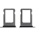 TIROIR-IPXSNOIR - Tiroir de carte SIM iPhone XS coloris gris sidéral