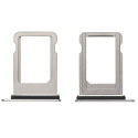 TIROIR-IPXSSILVER - Tiroir de carte SIM iPhone XS coloris gris silver