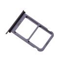 TIROIR-P20BLEU - Tiroir Huawei P20 pour carte Nano-SIM et microSD coloris bleu
