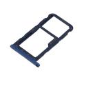 TIROIR-P20LITEBLEU - Tiroir Huawei P20 Lite pour carte Nano-SIM et microSD coloris bleu