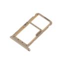 TIROIR-P20LITEGOLD - Tiroir Huawei P20 Lite pour carte Nano-SIM et microSD coloris gold