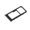 TIROIR-PSMARTNOIR - Tiroir Huawei P-Smart pour carte Nano-SIM et microSD coloris noir