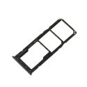 TIROIR-REDMI9NOIR - Tiroir SIM + carte mémoire Xiaomi Redmi 9 coloris noir