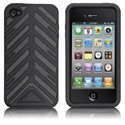 HTORQUE-IPHONE4-GR - Housse Case-Mate Torque bandes grises pour iPhone 4