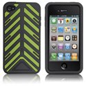 HTORQUE-IPHONE4-VE - Housse Case-Mate Torque bandes vertes pour iPhone 4