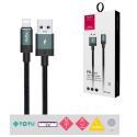 TOTU-BL-001VERT - Câble iPhone iPad Lightning TOTU 3A de 1,2 mètres robuste et renforcé coloris gris et vert