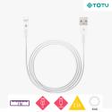 TOTU-BLC-02 - Câble iPhone / iPad Lightning TOTU 2,1A de 1 mètre