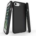 TOUGH-IP8NOIR - Coque renforcée iPhone 7/8 hybride antichoc coloris noir