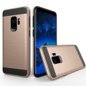 TOUGHARMOR-S9GOLD - Coque renforcée Galaxy S9 hybride antichoc coloris gold