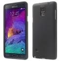 TPU-NOTE4NOIR - Coque soupel Samsung Galaxy Note 4 coloris noir mat