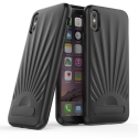 TPU-SHELLIPXNOIR - Coque souple iPhone X Shell coloris noir