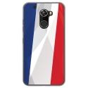 TPU0ALTICES60DRAPFRANCE - Coque souple pour Altice S60 avec impression Motifs drapeau de la France
