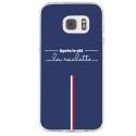 TPU0GALS7APRESLESKI - Coque souple pour Samsung Galaxy S7 SM-G930 avec impression Motifs après le ski la raclette
