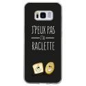 TPU0GALS8PEUXPASRACLETTE - Coque souple pour Samsung Galaxy S8 avec impression Motifs J'peux pas j'ai raclette