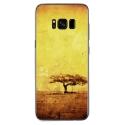 TPU0GALS8PLUSDESERT - Coque souple pour Samsung Galaxy S8 Plus avec impression Motifs paysage désertique