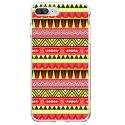 TPU0IP7PLUSAZTEQUEJAUROU - Coque souple pour Apple iPhone 7 Plus avec impression Motifs aztèque jaune et rouge